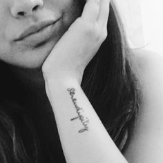 Let it find you! Serendipity tattoo #ink #serendipity #tattoo #wrist