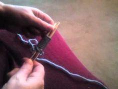 Neu !  Modische Filztasche Teil 1  (Stricken lernen für Anfänger) Kniting for beginners Felted bag