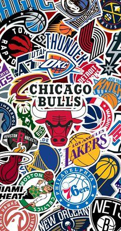 NBA Stickers Wallpaper