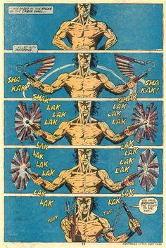 Art by Paul Gulacy, Writer Doug Moench Shang-Chi: Master of Kung Fu