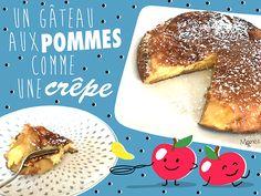 Les petits mômes réclament un gâteau pour le goûter, là, tout de suite, maintenant !? Mettez votre cape de Super Cuisto, car voilà LA recette qu'il vous faut !Ce gâteau aux pommes caramélisées se cuit directement dans la poêle comme une crêpe géante et sera votre allié sucré préféré pour fêter la Chandeleur, Mardi Gras, le Carnaval ou juste pour le plaisir !