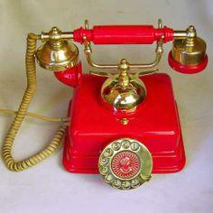 Telefone Antigo Teleart 1970
