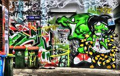 Melbourne Graffiti by Toshio