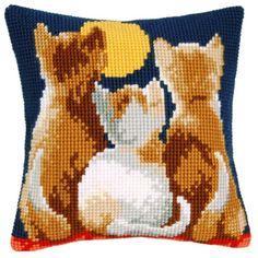 Набор для вышивания подушки Vervaco PN-0009165 Луна