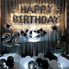 Your place to buy and sell all things handmade - Party Time 2020 Birthday Party Decorations For Adults, Hen Party Decorations, Baby Shower Decorations, Birthday Wishes Cards, Birthday Balloons, Birthday Backdrop, Backdrops For Parties, Shower Party, Party Party