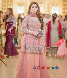 Bridal's dress is only a piece of cloth that has a lot of importance. We will discuss most stunning designs of elan bridal collection Desi Wedding Dresses, Pakistani Formal Dresses, Pakistani Dress Design, Indian Dresses, Pakistani Fashion Party Wear, Pakistani Wedding Outfits, Bridal Outfits, Frock Fashion, Fashion Dresses
