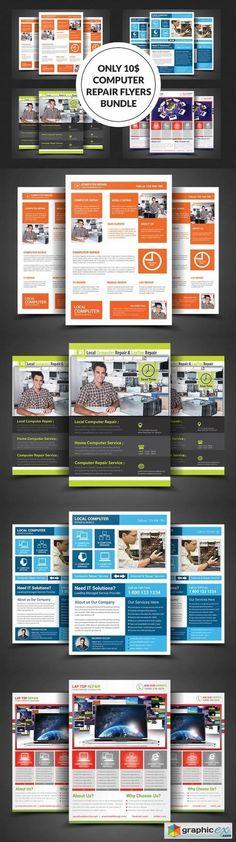 Redline Auto Flyer Creative flyers, Flyer template and Template - computer repair flyer template