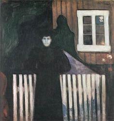 Edvard Munch Moonlight