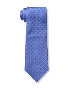 CHANEL Men's Logo Tie, Blue