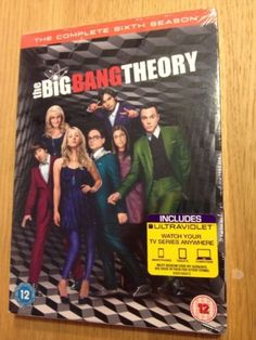 The big bang theory - #complete #season 6 (dvd + uv #code) - new & sealed,  View more on the LINK: http://www.zeppy.io/product/gb/2/112271159904/