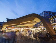 Image 1 of 40 from gallery of Besiktas Fish Market Refurbishment / GAD. Photograph by Alp Eren Landscape Architecture, Architecture Design, Urban Concept, Public Space Design, Public Spaces, Urban Planning, Installation Art, Exterior, Villa