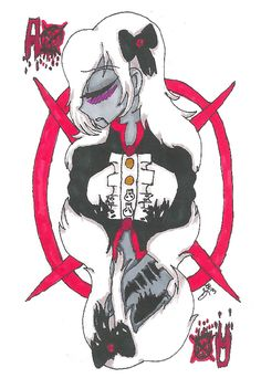 This is an older drawing of Ally around End of November-Beginning of December Creepypasta Playing Cards designs! TRADITIONAL: Ally- Ace of Creepypasta Cards Creepypasta Girls, Creepypasta Slenderman, Creepypasta Characters, Slenderman Proxy, Anime Girl Cute, Creepy Pasta, Scp, Marble, Deviantart