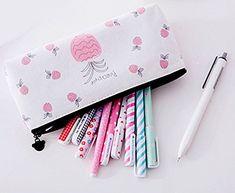 Cosanter Cosmetic Bag Toile Sac Crayon Cas pour étudiant Fourniture Scolaire: Matériaux de haute qualité, résistant et durable Idéal pour…