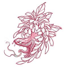 Up for grabs! Irezumi Tattoos, Maori Tattoos, Body Art Tattoos, Sleeve Tattoos, Japanese Snake Tattoo, Japanese Flower Tattoo, Japanese Tattoo Designs, Dibujos Tattoo, Desenho Tattoo