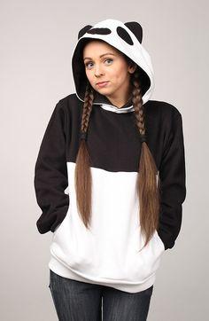 """Beast Hoodie """"Panda"""" B"""