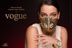 Whoever thought pollution masks Would be in vogue: Introducing brand new Skins™ range of Respro® masks. Sarah Elizabeth, Smokey Eye For Brown Eyes, Cool Things To Make, Masquerade, Your Style, Masks, Vogue, Range, Clothing