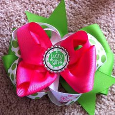 St. Patricks Day Bow!