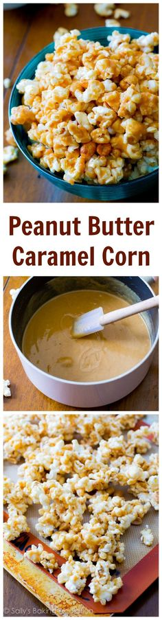 Peanut Butter Caramel Corn! Love this stuff.