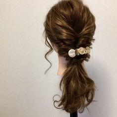 忙しいママも楽々できる♡ 「きちんと見え」したい日の上品ヘアアレンジ7 - LOCARI(ロカリ) Hair Arrange, Twiggy, Bobby Pins, Short Hair Styles, Hair Beauty, Hair Accessories, Dreadlocks, Instagram Posts, Hair Ideas