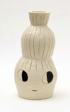 ceramic piece by Yoshitomo Nara