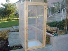 plans for a custom made chameleon cages - Google Search