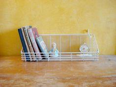 Vintage Desktop Book Shelf / Mid Century Decor от OldMoscowVintage