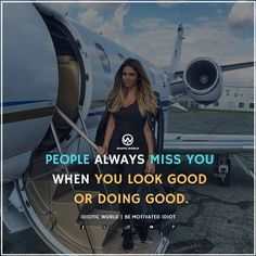 People Always miss you -- For More Quotes Follow @idiotic.world -- #money #motivation #success #cash #wealth #grind #lifestyle #business #entrepreneur #luxury #moneymaker #work #successful #hardwork #life #hardworkpaysoff #businessman #passion #millionaire #love #networkmarketing #businessowner #motivational #desire #entrepreneurship #stacks #entrepreneurs #smile #idiotic_world #instagood