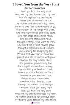 I Loved You from the Very Start. Lovely reading for a baby-naming ceremony - Rock Baby Names - Ideas of Rock Baby Names - I Loved You from the Very Start. Lovely reading for a baby-naming ceremony Dedication Quotes, Baby Dedication, Birthday Poems, 1st Boy Birthday, Baby Boy Poems, My Baby Girl Quotes, Unusual Baby Names, Naming Ceremony, Name Day