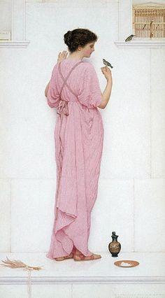 Bulleid, George Lawrence (b,1858)- Songbirds, 1896