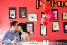 love the fun cafe and ice cream cones! what a great place to shoot.  color pops out very well