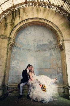 Nature and Victorian Fairy Inspired Vegan Wedding: Vikki & John