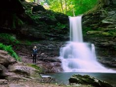 Hikers find waterfall heaven on Ricketts Glen trail. See 22-plus falls with this travel guide to the Pennsylvania hike.