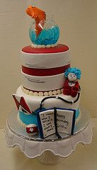Dr suess cake