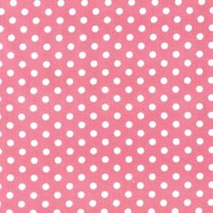Pink Light Design - Everything Nice - Apron Dot in Bubblegum
