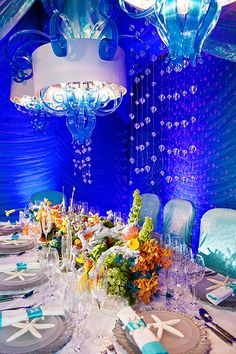 "Feel as if you're really ""under the sea"" in a romantic grotto all your own at this Disney's Fairy Tale Wedding"