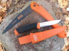 Mora / Bahco Hi-Vis Knife / Bahco Laplander Saw COMBO - Bens Outdoor Products - $30
