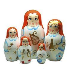 Angels Nesting Dolls