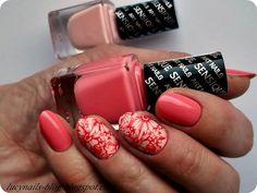 SENSIQUE Art Nails nr 324 Guava i 325 Magnolia
