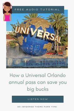 This simple tip could save you hundreds on your Universal Orlando vacation. Parks expert Maven breaks down why you need to consider an annual pass for your Universal Orlando trip - even if you'll only be visiting once during the year. Find out how at GoInformed.net/40 Universal Studios Florida, Universal Orlando, Harry Potter Diagon Alley, Minion Mayhem, Hershey Park, Orlando Theme Parks, Orlando Vacation, Park Around, Islands
