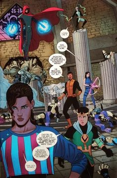 Young Avengers by Jamie McKelvie