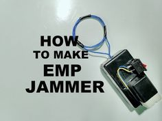 EMP Jammer In this article, you will see what is EMP jammer and how to make an EMP jammer. What is EMP Jammer? EMP is defined as Electro Magnetic Pulse. Electronics Mini Projects, Computer Projects, Electronic Circuit Projects, Electrical Projects, Diy Electronics, Diy Tech, Tech Hacks, Cool Tech, Tech Gadgets