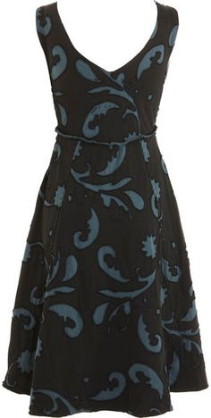 Love the shape of this.  Alabama Chanin Sophia Dress - Lyst (No longer available.)