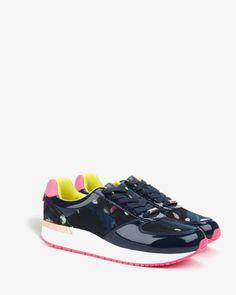 Printed trainers - Dark Blue | Footwear | Ted Baker UK