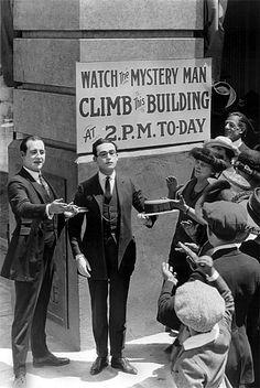 Harold Lloyd. 'Safety Last' - 1923