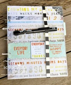 Scraps of Life: Handmade Smash Book. I great way to start making smash book Smash Book Challenge, Smash Book Inspiration, Journal Inspiration, Journal Ideas, Journal Prompts, Writing Inspiration, Zentangle, Smash Book Pages, Book Projects