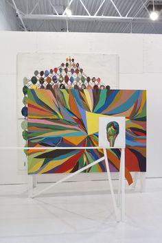 Bad Art, Damien Hirst, Art Plastique, Paint Colors, Contemporary Art, Abstract Art, Tapestry, Sculpture, Fine Art