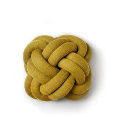 Kudde Knot gul