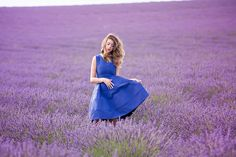 LAVENDER FIELDS – VALENSOLE PROVENCE  love this shot....