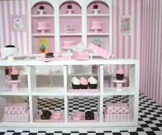 Blythe/Rement Bakery Roombox- In my Etsy shop!