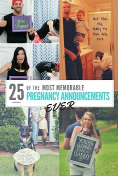 Ready to share the news that you're expecting? Here are 25 creative ways to announce your pregnancy in a way that your friends and family will never forget. - Pregnacy and moms Second Baby Announcements, Pregnancy Announcement To Parents, Ivf Pregnancy, Surprise Pregnancy, Pregnancy Goals, Pregnancy Advice, Second Pregnancy, Husband Pregnancy Reveal, Fiestas